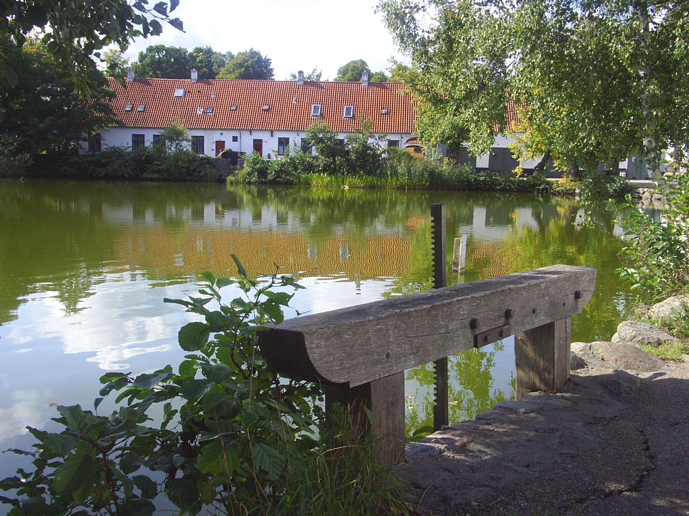Brede, Mølleådalen. Foto: Sept. 2008