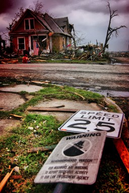 Tornado winds were greater than 200 mph