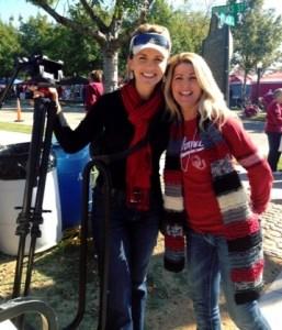 Kristin and Michelle