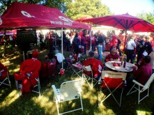 Tailgating before the Oklahoma/Notre Dame game