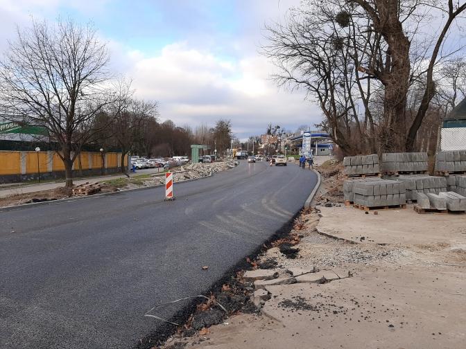 У Львові для проїзду відкрили вулицю Личаківську