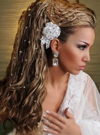 Причёски-со-стразами-2