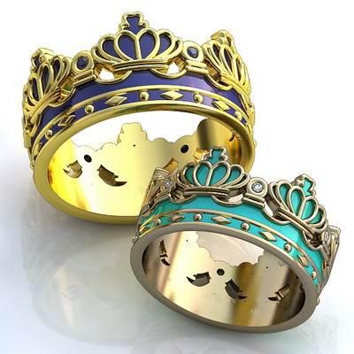 Кольцо-корона-10
