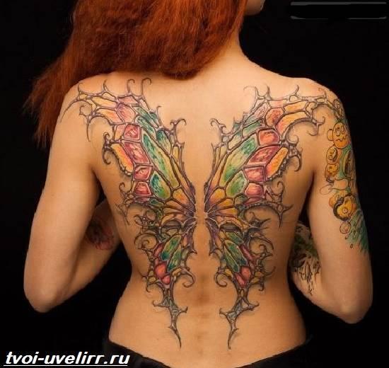 Тату-крылья-Значение-тату-крылья-Эскизы-и-фото-тату-крылья-4