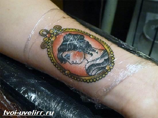 Заживление-татуировки-Уход-за-свежей-татуировкой-2