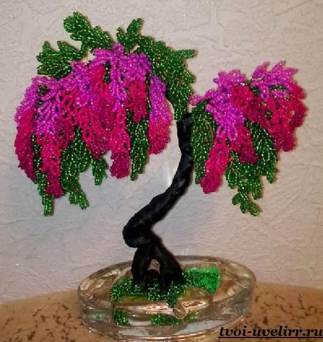 Деревья-из-бисера-Мастер-класс-видео-и-фото-деревьев-из-бисера-1