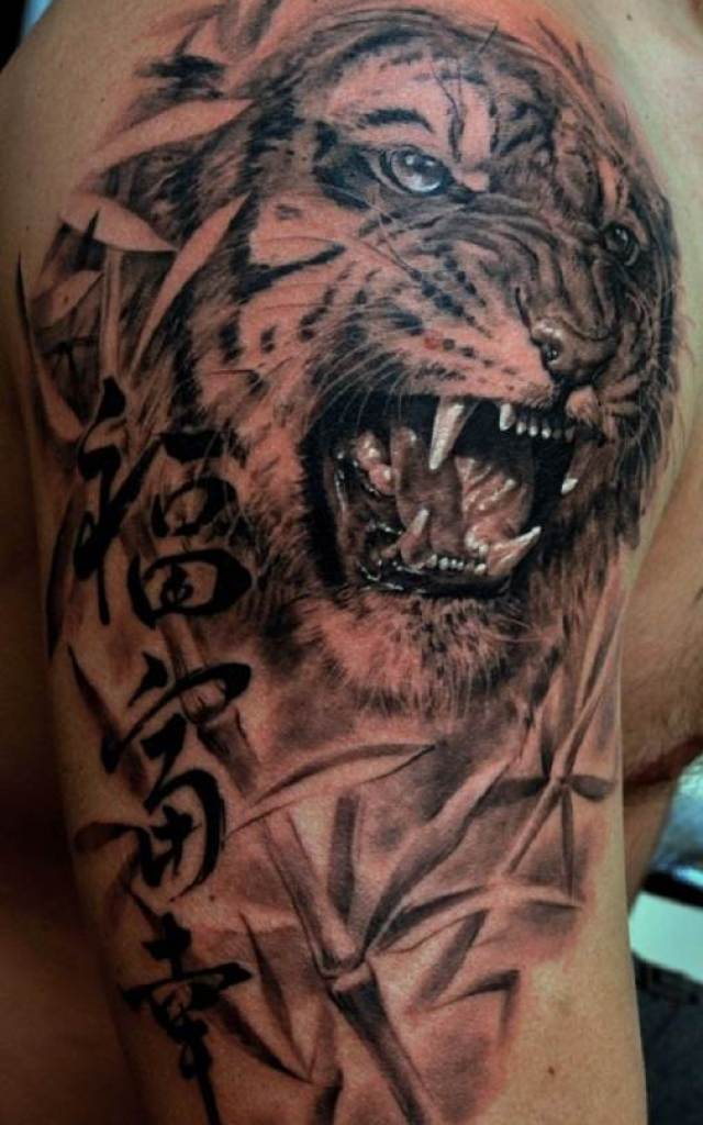 Тату-тигр-и-её-значение-12