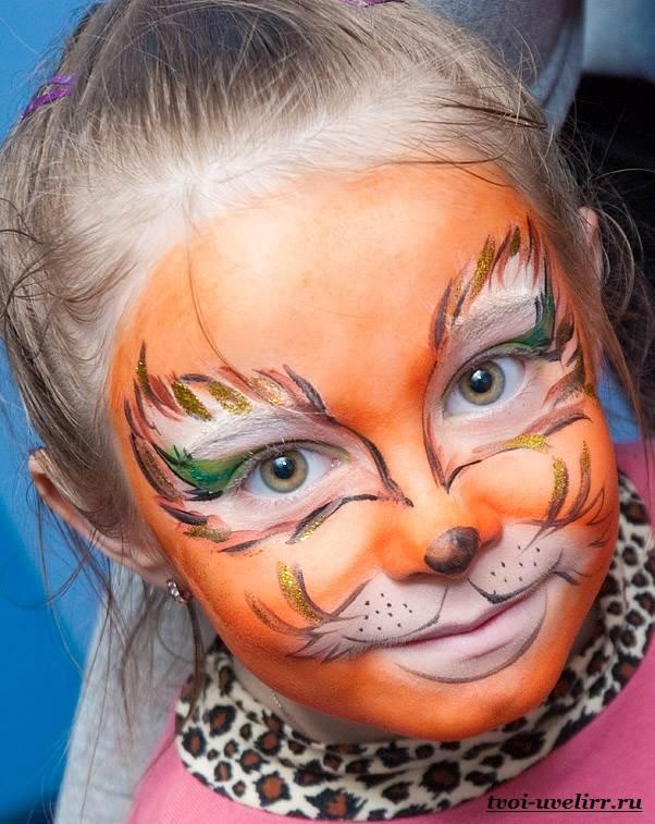 Аквагрим-Фото-аквагрима-Аквагрим-для-детей-6