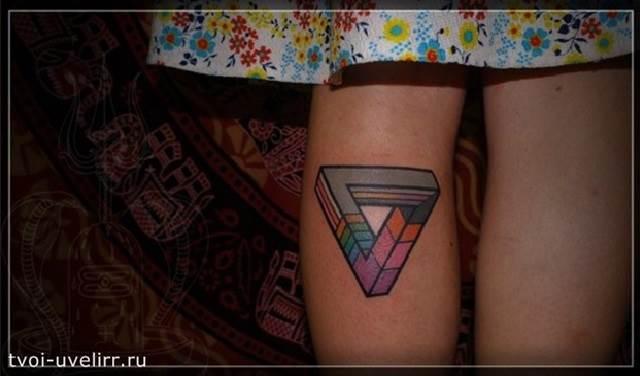 Тату-треугольник-и-её-значение-6