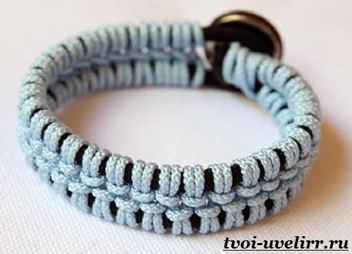 Браслеты-из-шнурков-Плетение-браслетов-из-шнурков-7