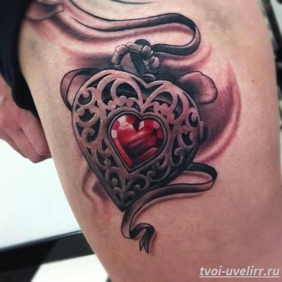 Тату-сердце-и-их-значение-7