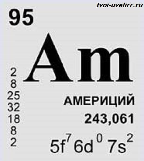 Америций-элемент-Свойства-добыча-применение-и-цена-америция-1