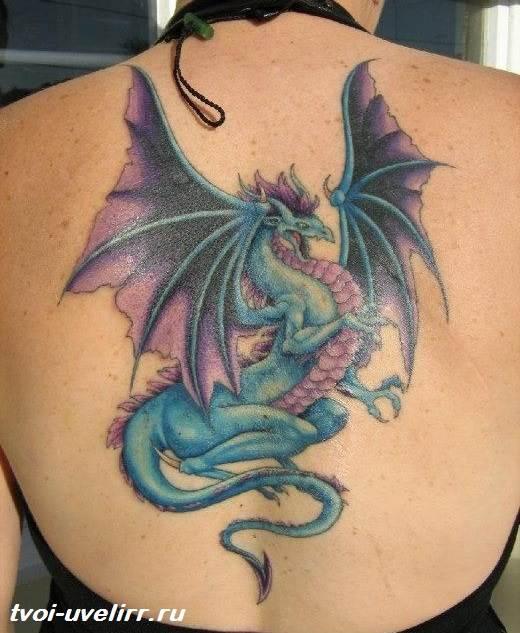 Тату-дракон-Значение-тату-дракон-Эскизы-и-фото-тату-дракон-3