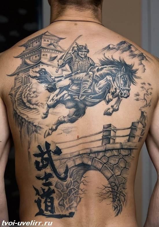 Тату-самурай-Значение-тату-самурай-Эскизы-и-фото-тату-самурай-10