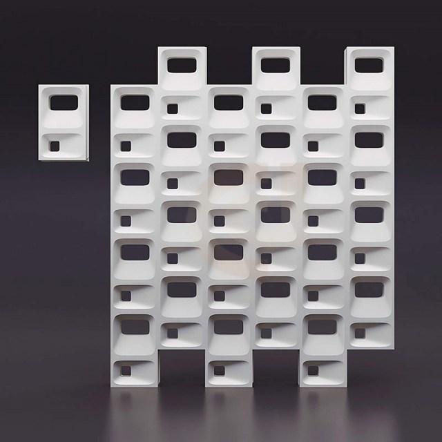 Блок Favi (Соты)