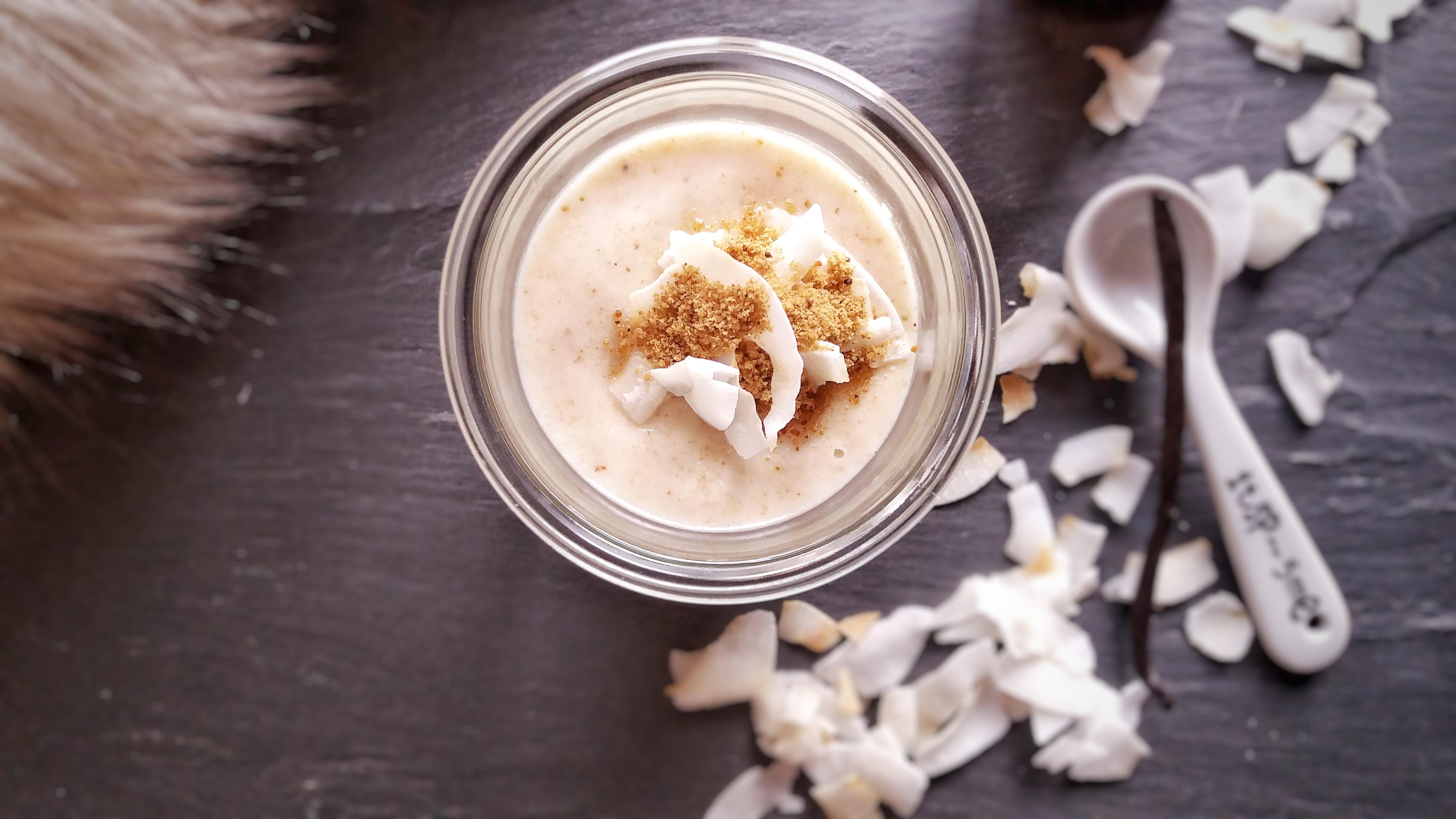 Kokosové máslo s vanilkou