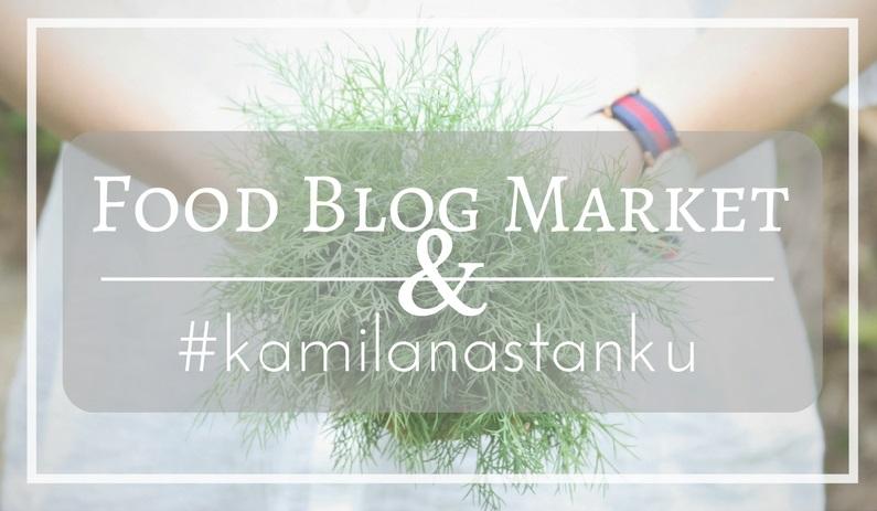 Menu na Food Blog Market