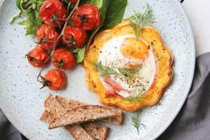 Snídaně šampionů: zapečená vejce & dýně