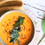 Uzená batátová polévka (bez masa)