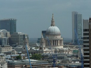 The city of London has changed and grown considerably around St. Paul's Cathedral, and there's no end in sight.