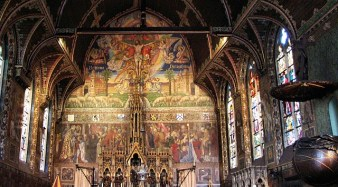 Altar of the Basilica of Our Lady, Bruges