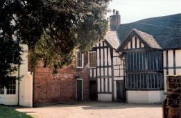 The Commandery, Worcester. A museum about the English Civil War