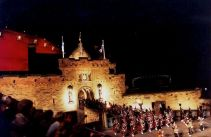 Edinburgh Castle and the Tattoo