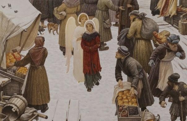 15 картин из жизни святой Ксении Петербургской