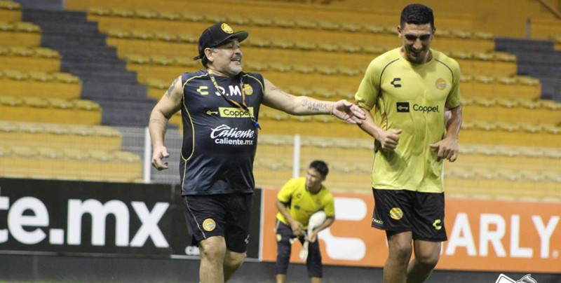 Resultado de imagen para Los Dorados de Maradona enfrentan al equipo de Zacapetec en partido clave
