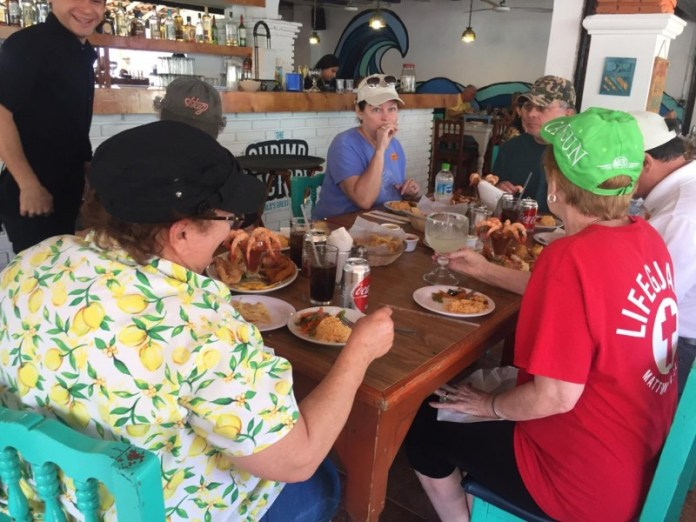 Tourists enjoy Sinaloan gastronomy
