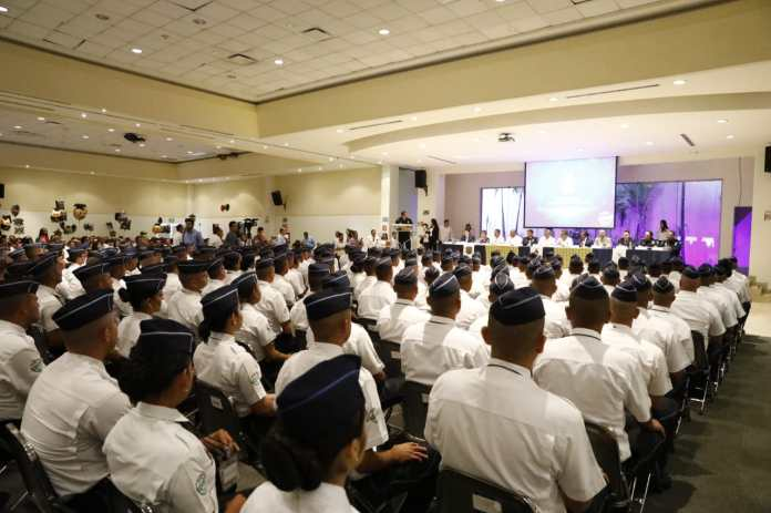 INECIPE 345 new officers graduate