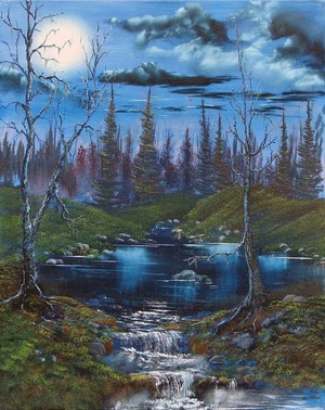 Moonlit-stream