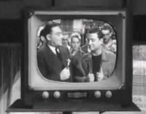 TV en noir et blanc