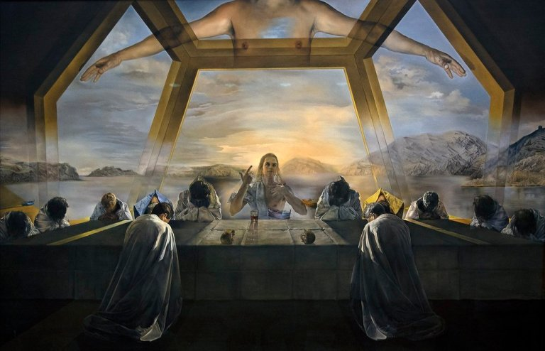 The Sacrament of the Last Supper by Dali