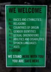 We welcome all