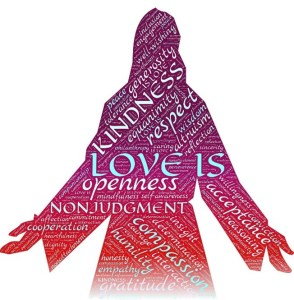 love is Jesus