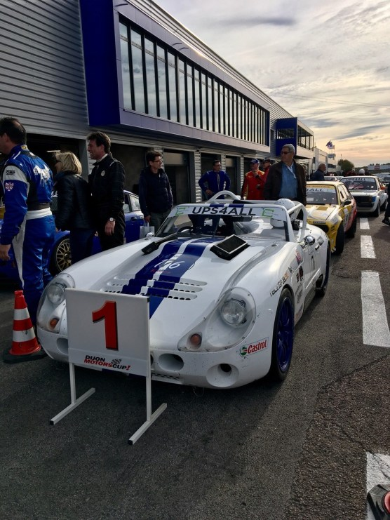 Circuit de Dijon-Prenois Samuel Benz siegt im Tuscan Racer (2)