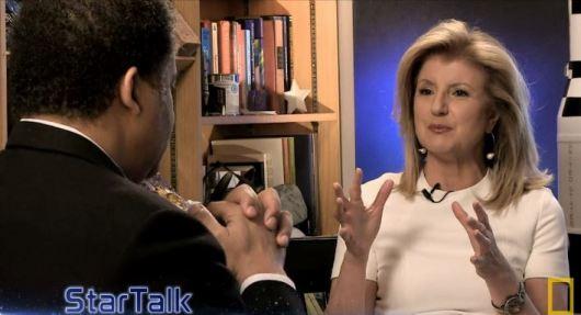 Arianna Huffington on StarTalk TV - National Geographic Channel