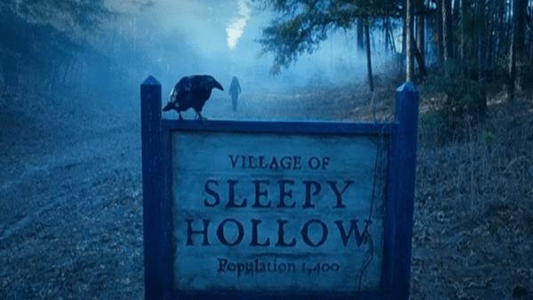Sleepy Hollow road sign in 1781