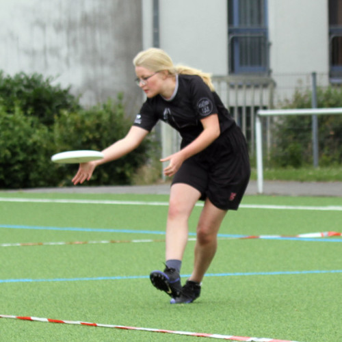 Rebecca bei der Ultimate Junioren Quali in Paderborn 2018