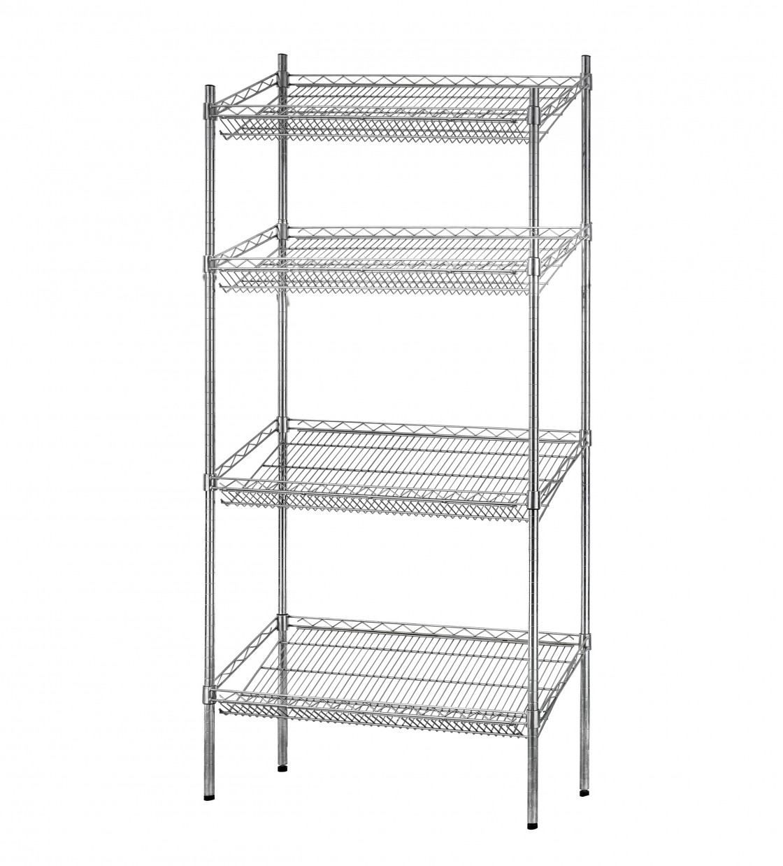 Buy Commercial Wire Rack Storage Shelves Metal Wire