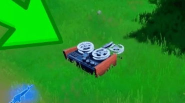 How to Find the Crashed Plane's Black Box in Fortnite (Week 9 Challenge)