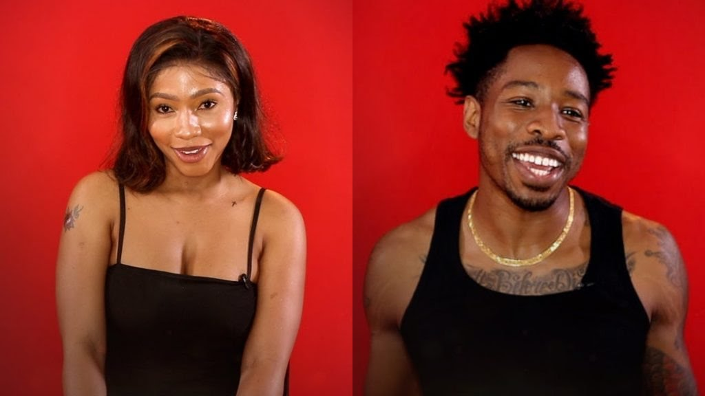 BBNaija 2019: Ike and Mercy caught on camera in a steamy condition