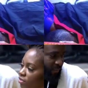 BBNaija 2019: Khafi and Gedoni caught making love again (Video)