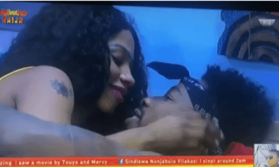 BBNaija 2019 Day 20: Ike and Mercy make up under the duvet