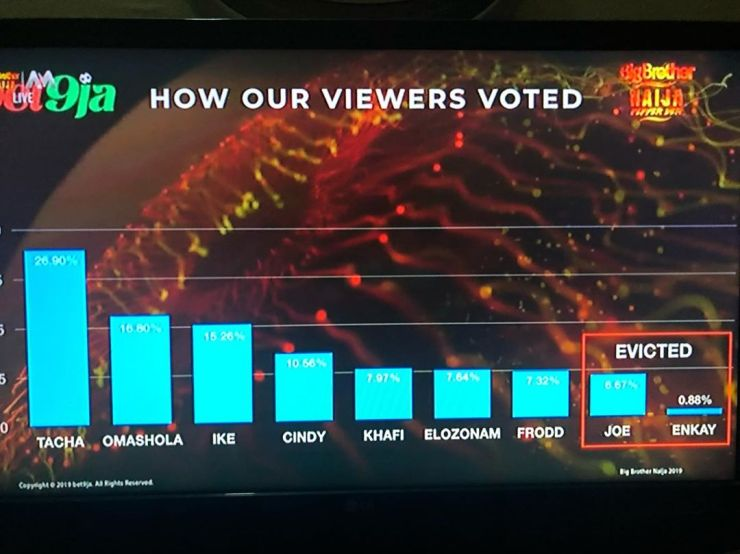 BBNaija 2019 How Viewers Voted