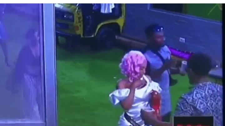 BBNaija 2019 Saturday Night Party: Mercy Twerks Hell Out of Ike, Hides Drink In Her Bra.