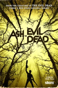 "The ""ash vs Evil Dead"" key art from Starz."