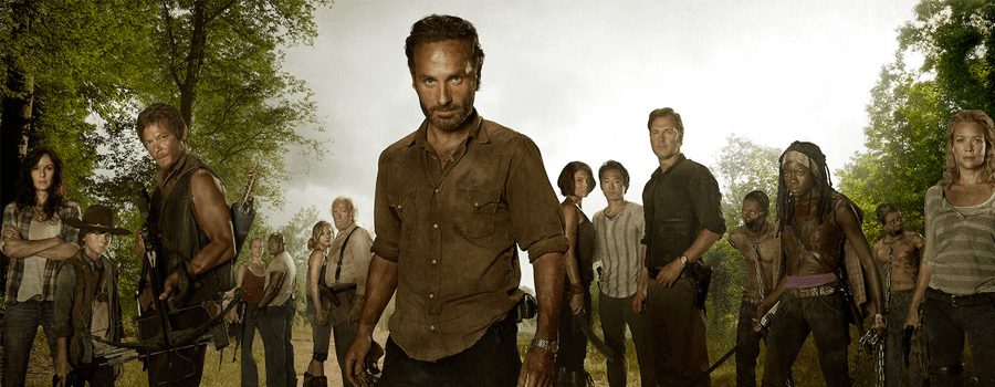 zombie movies and tv series netflix the walking dead