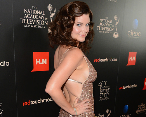 Actress Heather Tom attends The 40th Annual Daytime Emmy Awards at The Beverly Hilton Hotel on June 16, 2013 in Beverly Hills, California. Photo Credit: Mark Davis/Getty Images North America